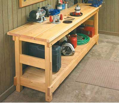 plans a workbench wood