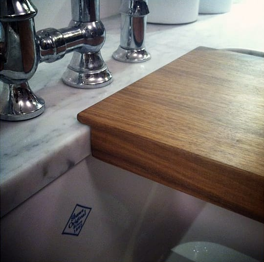 End Grain Cutting Board To Fit Over Sink Viability