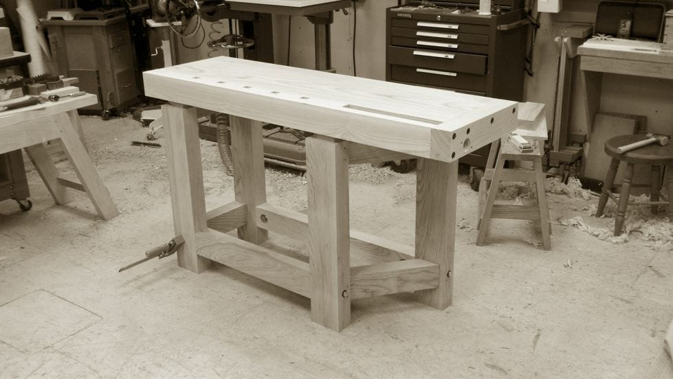 roubo workbench plans free pdf